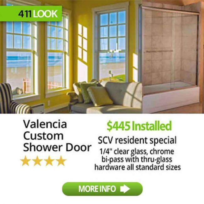 Valencia Custom Shower Doors