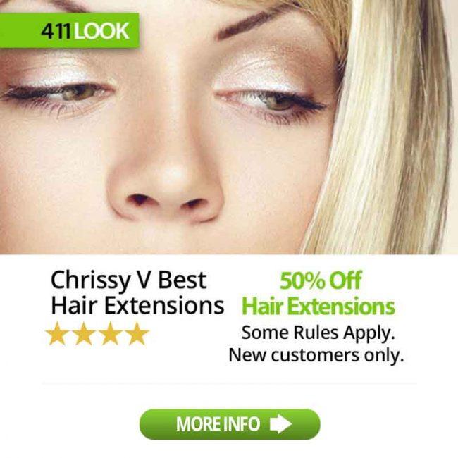 Chrissy V Best Hair Extension